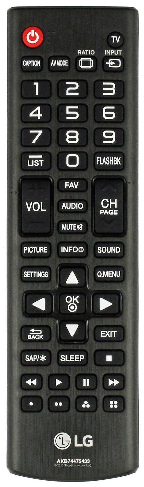 Control Remoto LG 42LF5600 UB 55LF5600 UB 49LF5500 50LF60...