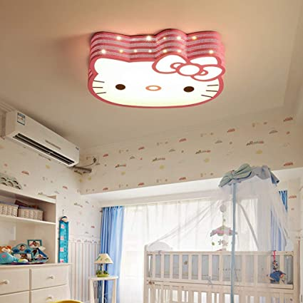 lámpara de araña Led niños Techo Simple Lindos de WZJ q3c54SAjRL