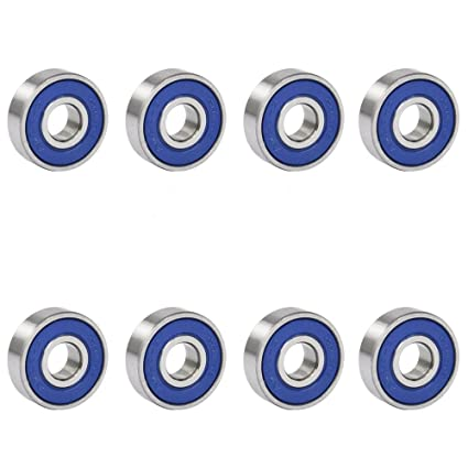 378eba3dd Amazon.com   TRIXES 8 Frictionless Abec 9 Sealed Skateboard Roller Skate  Bearings   Sports   Outdoors
