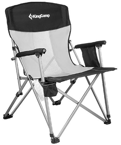 KingCamp - Silla de Camping Plegable y Transpirable con ...