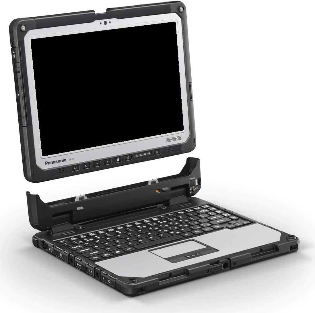 Panasonic Toughbook CF 33 with Core i5 2.6 Ghz Infrared Webcam 256 GB SSD 8 GB, Windows 10 Pro, Rugged Laptop, 12 inch Touch Screen - 3 Year Warranty