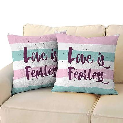 Amazon.com: Fundas de almohada de arcilla romántica a granel ...