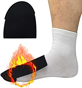 IFCASE Neoprene Toe Warmer, (Worn Inside Shoes or Boots) Working, Camping, Biking, Hunting Cold Weather Winter Thick Thermal Warm Foot Toe Socks for Women, Men, Teens - 2 Pairs