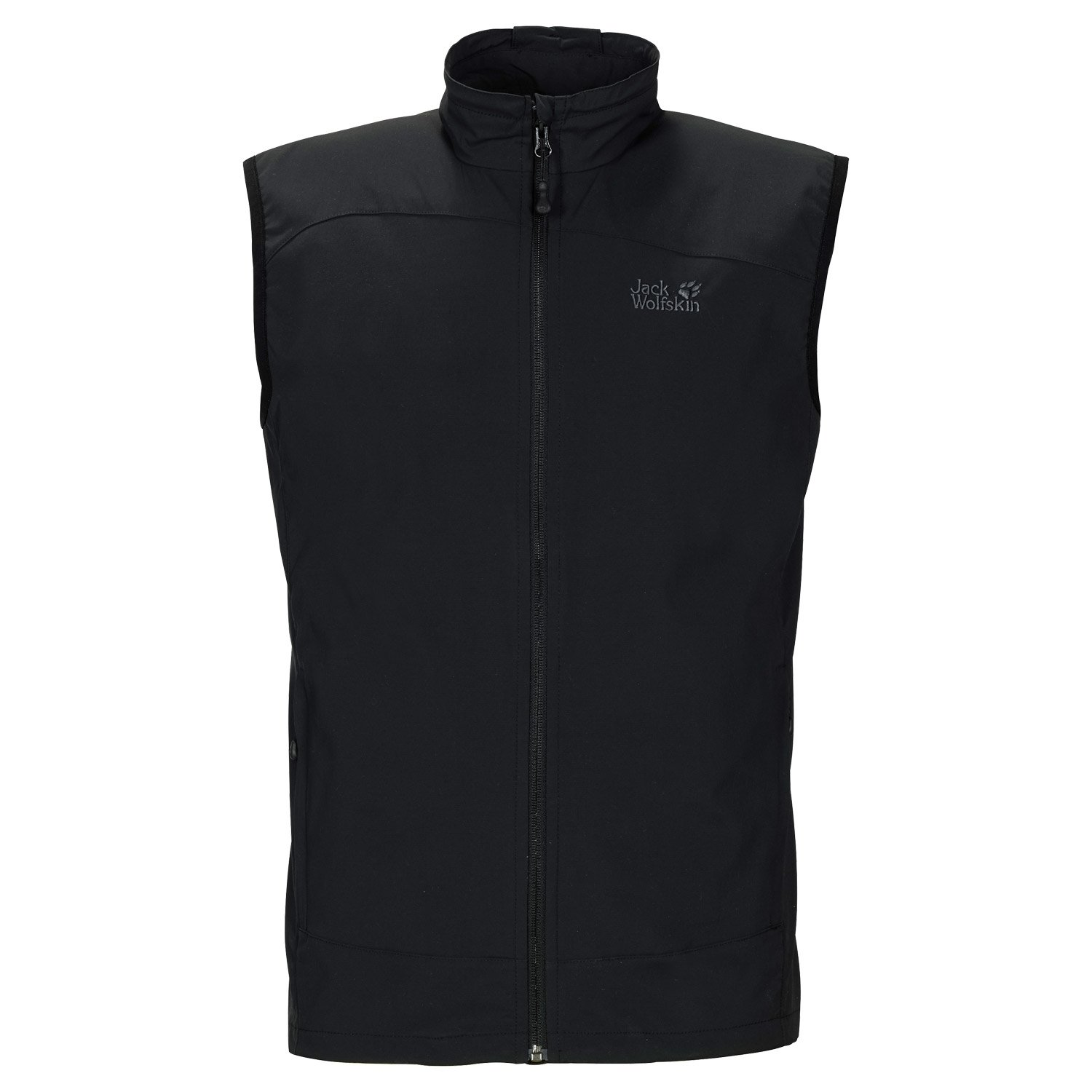 Jack Wolfskin Men's Activate Vest, Black, X-Large by Jack Wolfskin