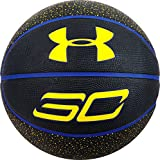 Under Armour Steph Curry Player Basketball, Blue/Black