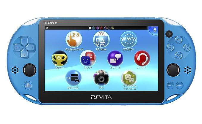 Sony PlayStation Vita PCH-2000ZA23 Wi-Fi Model Aqua Blue ...