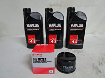 Kit Tagliando Yamalube y filtro aceite para Yamaha T-Max 500 530 01 - 16 Original: Amazon.es: Coche y moto