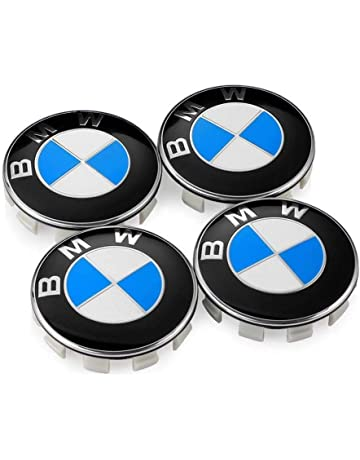 Enseng Set of 4 - BMW Wheel Center Caps Emblem, 68mm BMW Rim Center Hub