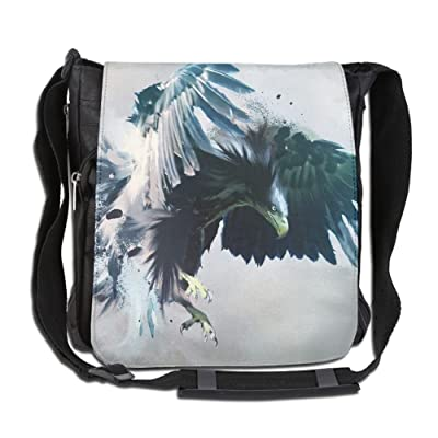 0a31d27b78 Angry Eagle With Big And Blue Wings Fashion Print Diagonal Single Shoulder  Bag