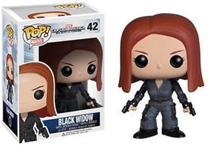 Funko POP Captain America Black-Widow WINTER SOLDAT Actionfiguren Toy For Kids