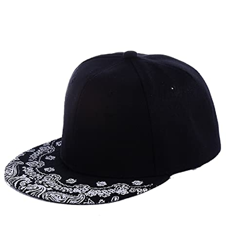 Tongshi Bboy - Gorra estampada regulable, unisex, estilo hip hop ...