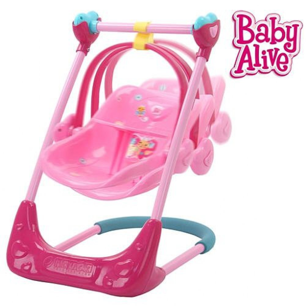 Baby Alive Swing High Chair And Car Seat 3 In 1 Combo By Playsets