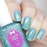 Imagine - glitter holographic nail polish by Cupcake Polish