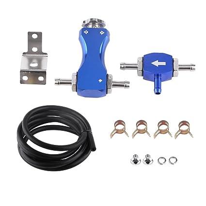 Yosoo Ajustable Kit de Controlador Manual Turbo Boost para Automóvil Válvula de Derivación para Una Alta