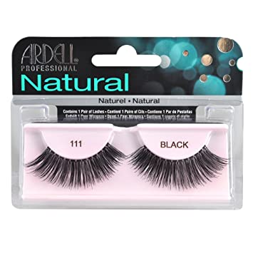 12b6eea1603 Amazon.com : Ardell Fashion Lashes - 111 Black Glam (Quantity of 6) : Fake  Eyelashes And Adhesives : Beauty