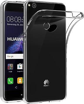 AICEK Funda Huawei P8 Lite 2017, Transparente Silicona Fundas para ...