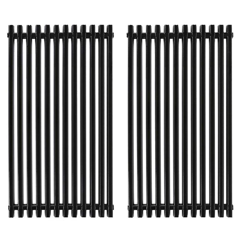 X Home Grill Grate 16 7/8'' Grill Replacement Parts 16 inch for Kenmore, Master Chef, Backyard, Charbroil 463420507, 466420911 and Others, Porcelain Steel(2 Pack, 16 7/8'' x 9 5/16'') XGf06