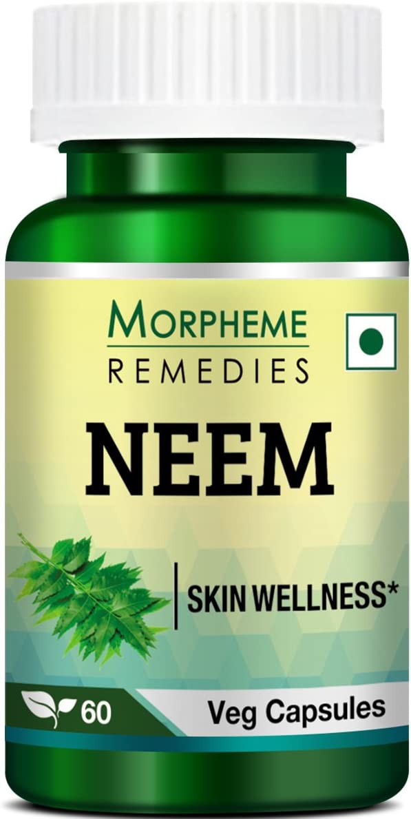 Morpheme Neem 500mg Extract 60 Veg Caps