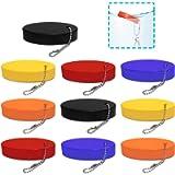 Foam Floating Keychain, AFUNTA 10 Pcs Oval Foam Float Key Chain for Outdoor Sports, Fishing, Boating – Orange/Yellow…