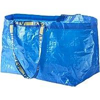 eLisa Ikea Lot de 5 grands sacs Frakta Bleu Capacité maximum 25 kg