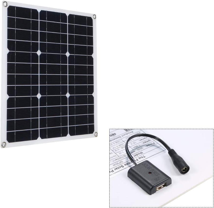 Galapara Módulo de Panel Solar monocristalino, DC5V / DC18V ...