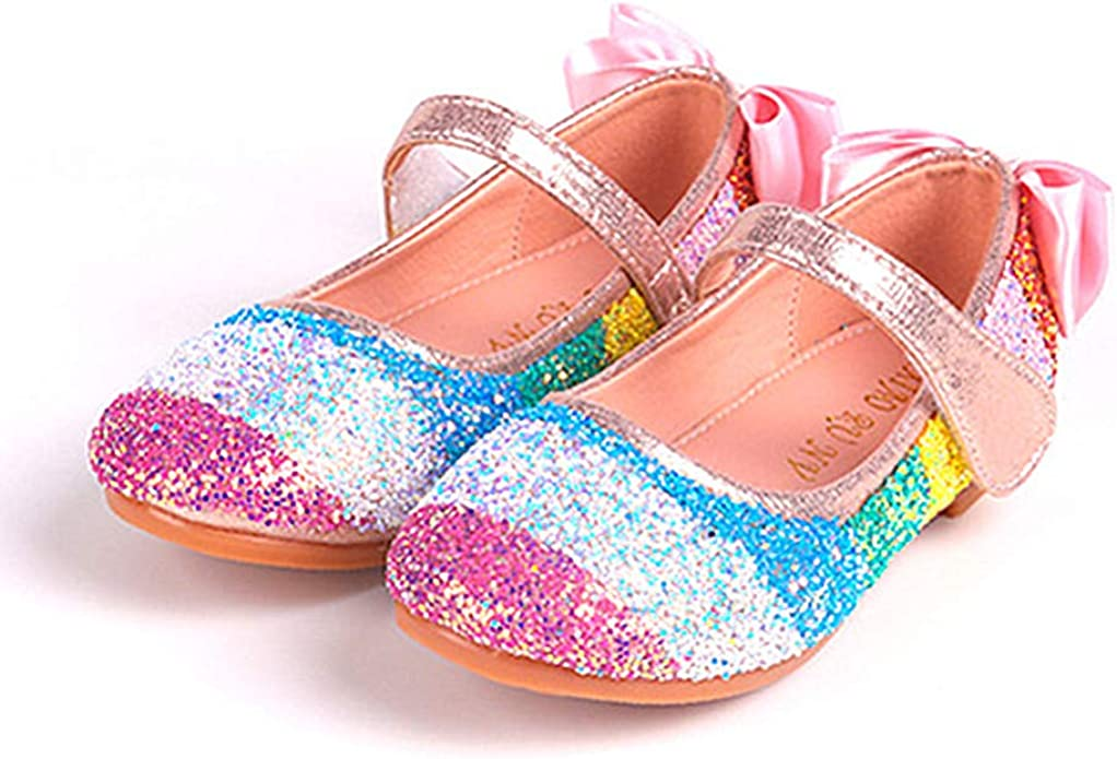 Girls Unicorn Rainbow Princess Shoes