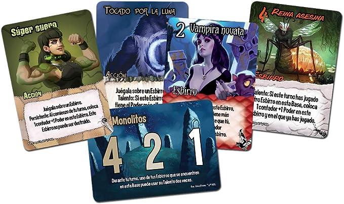 Edge Entertainment Smash Up - Choque de Monstruos, Juego de Mesa EDGSU05: Amazon.es: Juguetes y juegos