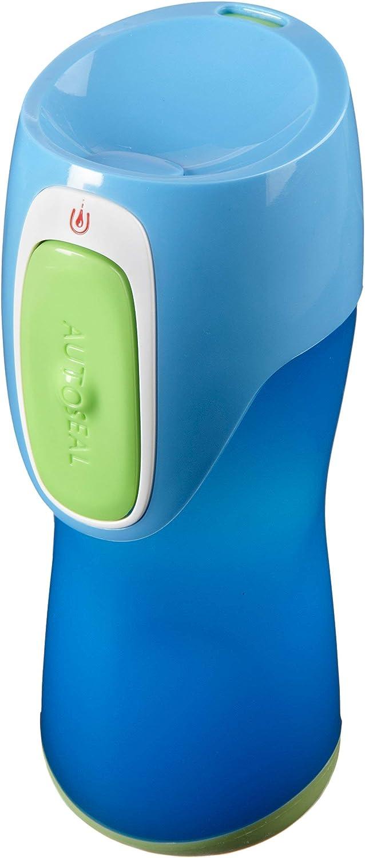 Blue//Green Contigo Kids Runabout Autoseal Travel Mug 300 ml