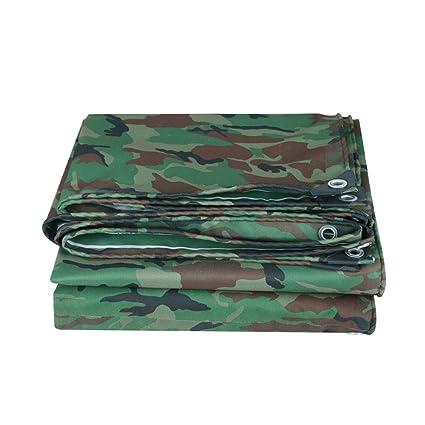 Hoja de lona de camuflaje , Lona de camuflaje grande , Ideal para lugares para acampar