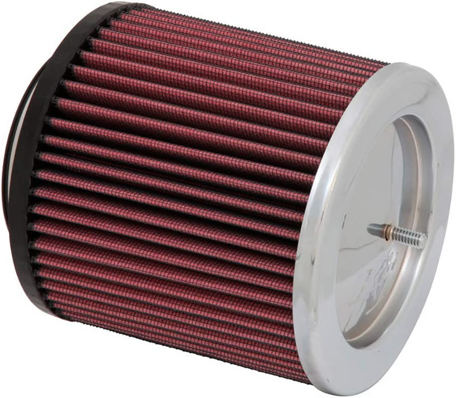 Base; 6.625 in Top 191 mm K/&N RC-5183 Universal Clamp-On Air Filter: Round Tapered; 6 in 229 mm Flange ID; 7.5 in 152 mm Height; 9 in 168 mm