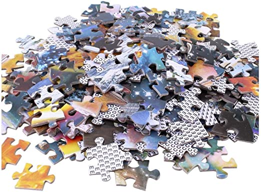 SDHJMT Puzzle per Adulti 1000 Pezzi Chitarra in Legno Giocattoli da Citt/à Che piacciono ad Adulti e Adolescenti