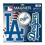 "WinCraft MLB Los Angeles Dodgers 18778014 Vinyl Magnet, 11"" x 11"""