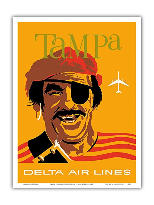 Pacifica Island Art Tampa, Florida-Delta Air Lines-Pirata ...