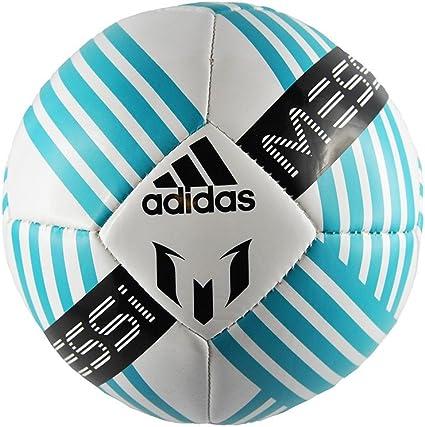 adidas Messi Mini Gli Balón, Hombre, (Blanco/Azuene/Negro), 1 ...