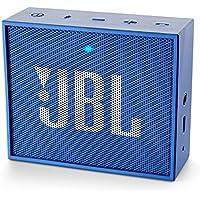 JBL GO Bluetooth Speaker (2-pack) with Speakerphone, Blue