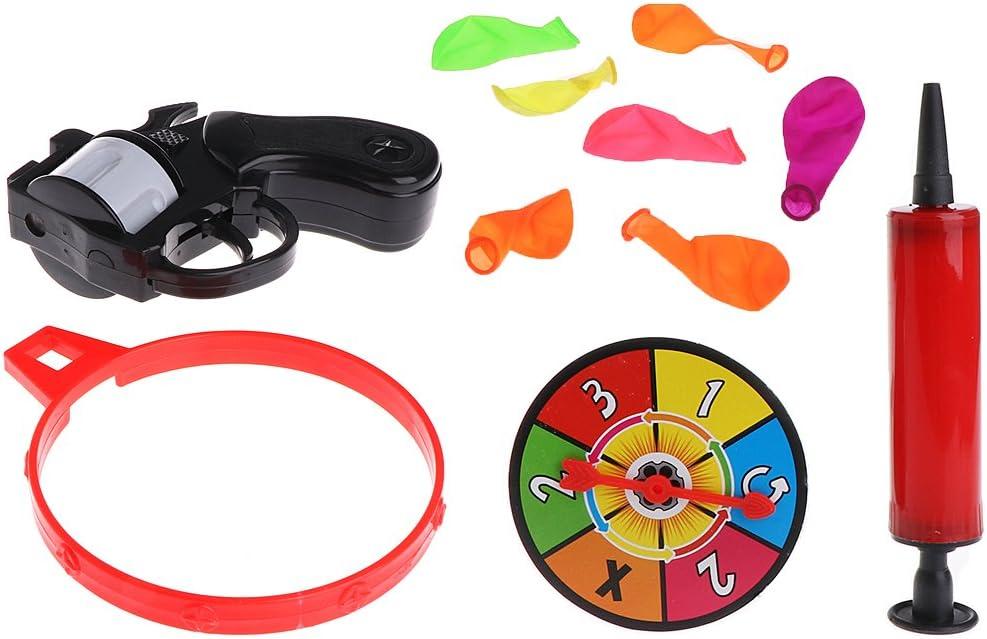 suoryisrty Tricky Toy, Modelo de Ruleta Rusa, Pistola de Globo, Pistola, Juego de Fiesta, Regalo