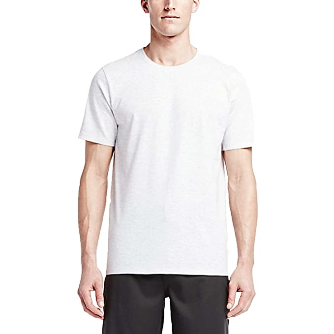 Hurley - Mens Staple Premium T-Shirt, Small, Birch Heather