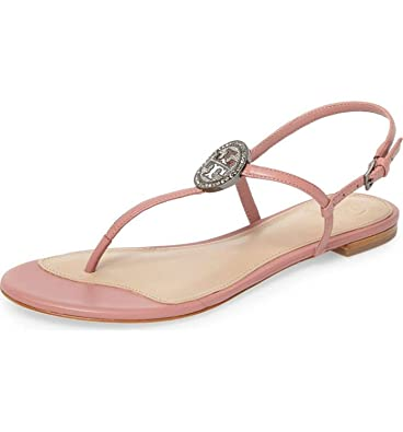 1ac7caae9a58 Image Unavailable. Image not available for. Color  Tory Burch Liana Flat  Sandal