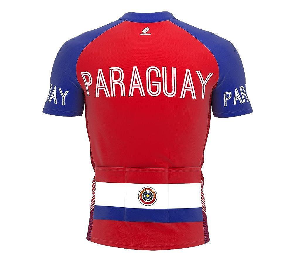 Amazon.com: ScudoPro Paraguay Full Zipper Bike Short Sleeve ...