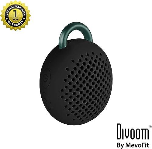 Divoom Bluetune Bean bluetooth Speaker for Smartphones – Retail Packaging – Black