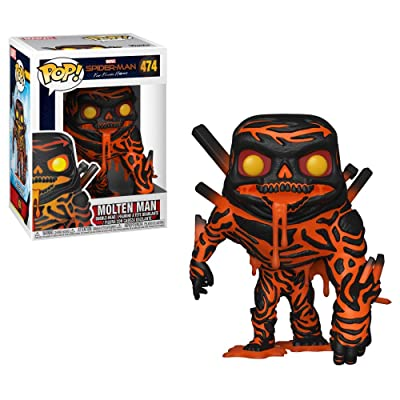 Funko Pop! Marvel: Spider-Man Far from Home - Molten Man: Toys & Games