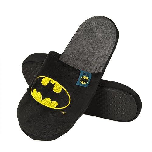 Estar Batman HombreAzul De Negro43 Por Zapatillas Para Casa PZkiulwOXT
