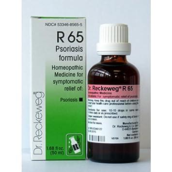 Amazon com : Dr  Reckeweg, Psoriasis Formula R65 50 ml : Beauty