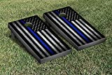 Thin Blue Line Police Themed Cornhole Game Set