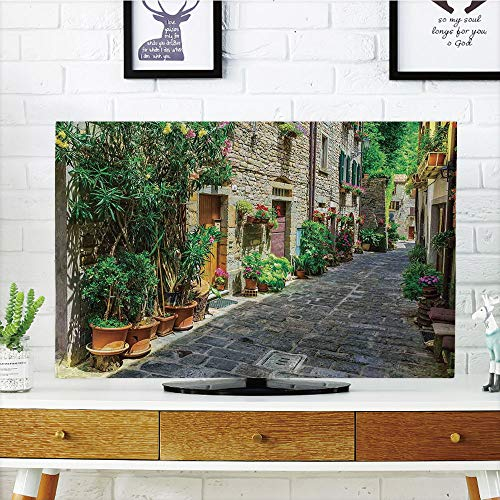 iPrint LCD TV Cover Multi Style,Tuscan,Doorway to Tuscan Hou