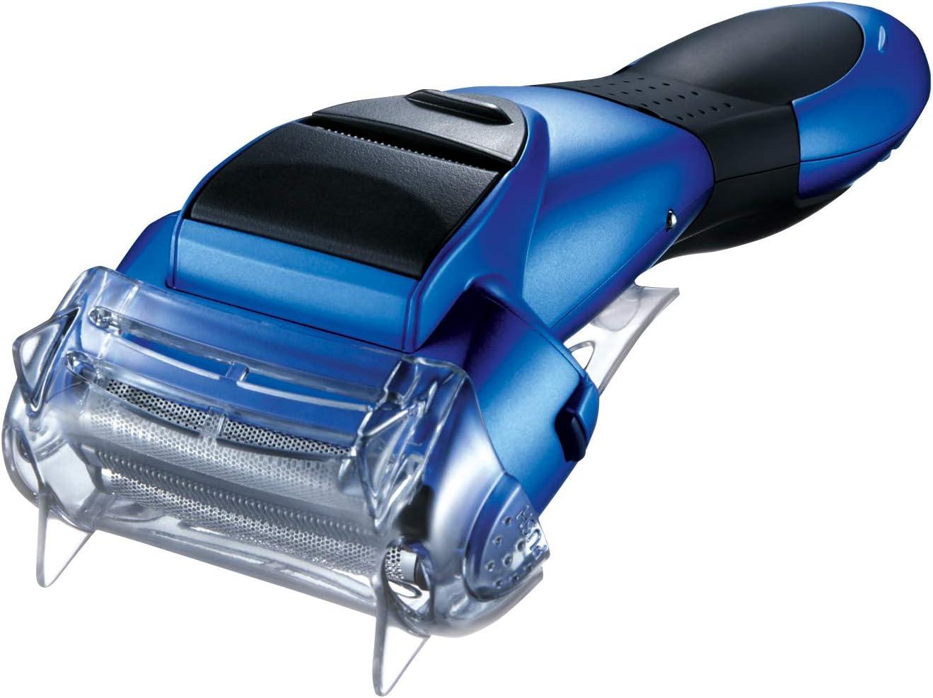 Panasonic ES-SL41-A503 - Afeitadora en seco y húmedo, 3 hojas, 3 cabezales con cuchillas nano pulidas de 30°, azul: Amazon.es: Salud y cuidado personal