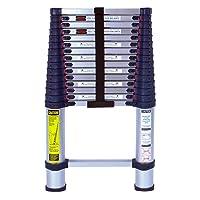 Xtend & Climb 785P Aluminum Telescoping Ladder Type I Professional Series, 15.5-Foot