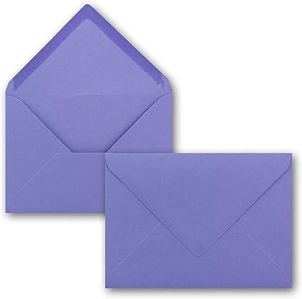 in colori vivaci Neuser Buste per lettere 50 Umschl/äge 57-Pazifikblau formato C6 dimensioni/162 x 114/mm chiusura adesiva da inumidire