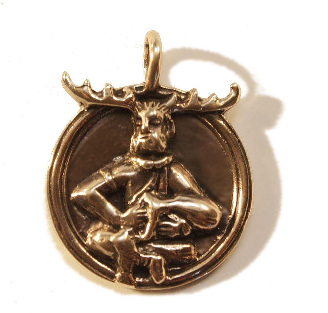 Amulett Anhänger Waldgott Cernunnos