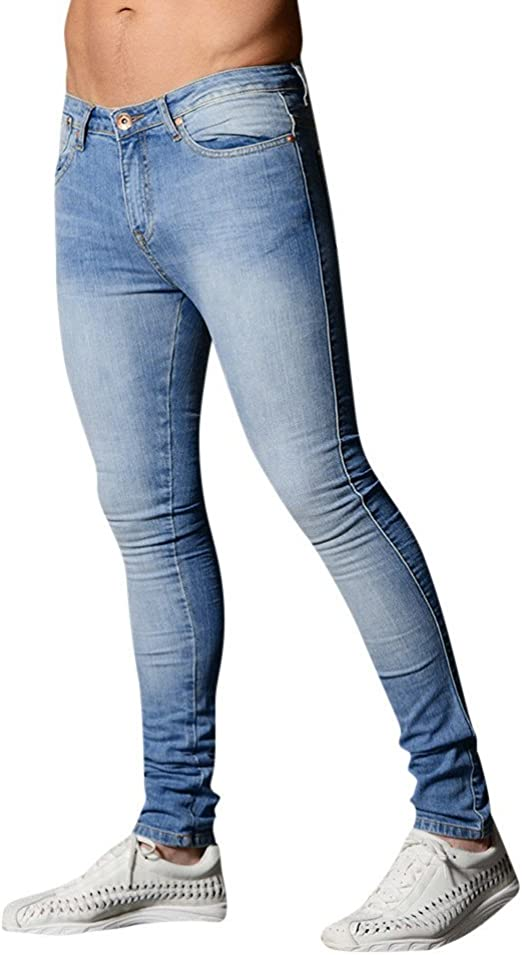 HX fashion 秋冬ジーンズメンズメンズタイトパンツコットンジッパーフライ麻ひも作業ワークパンツジーンズパンツメンズ暖かい通気性シルキー快適パンツジーンズ